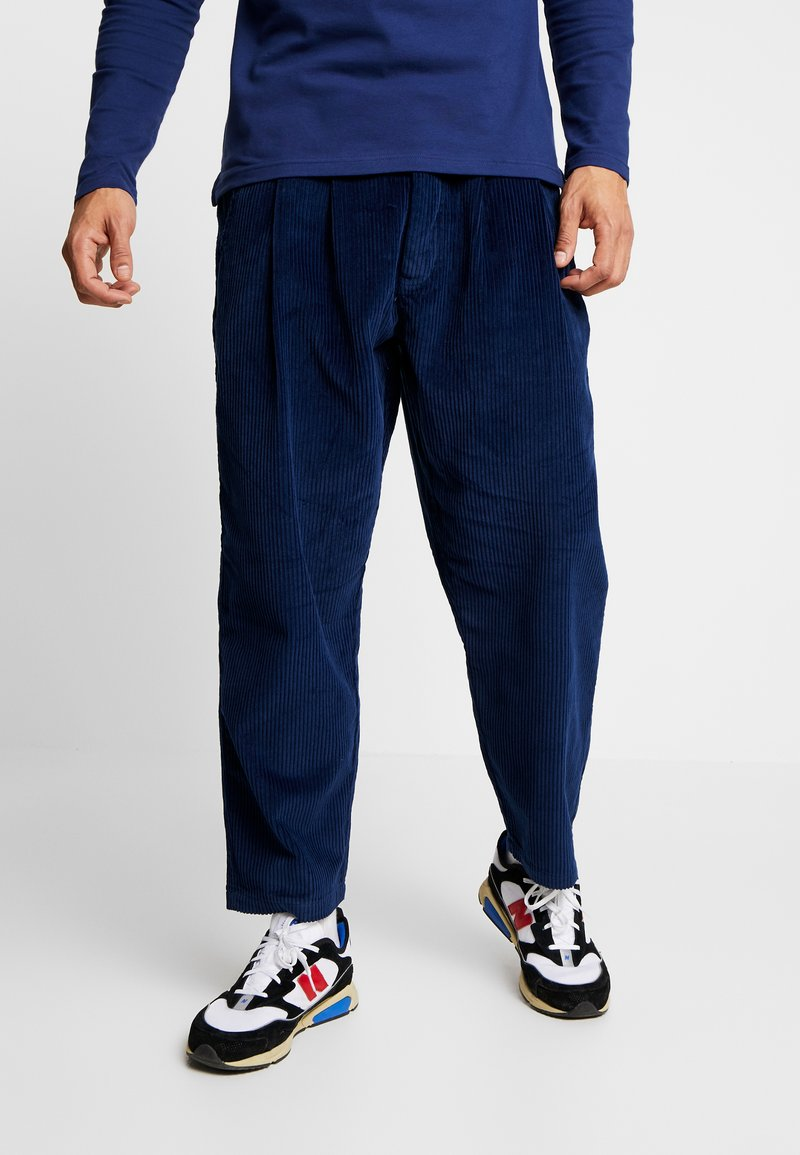 Denham - HARRY PANT - Trousers - medieval blue