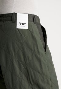 Denham - PAD PANT - Trousers - army green - 5