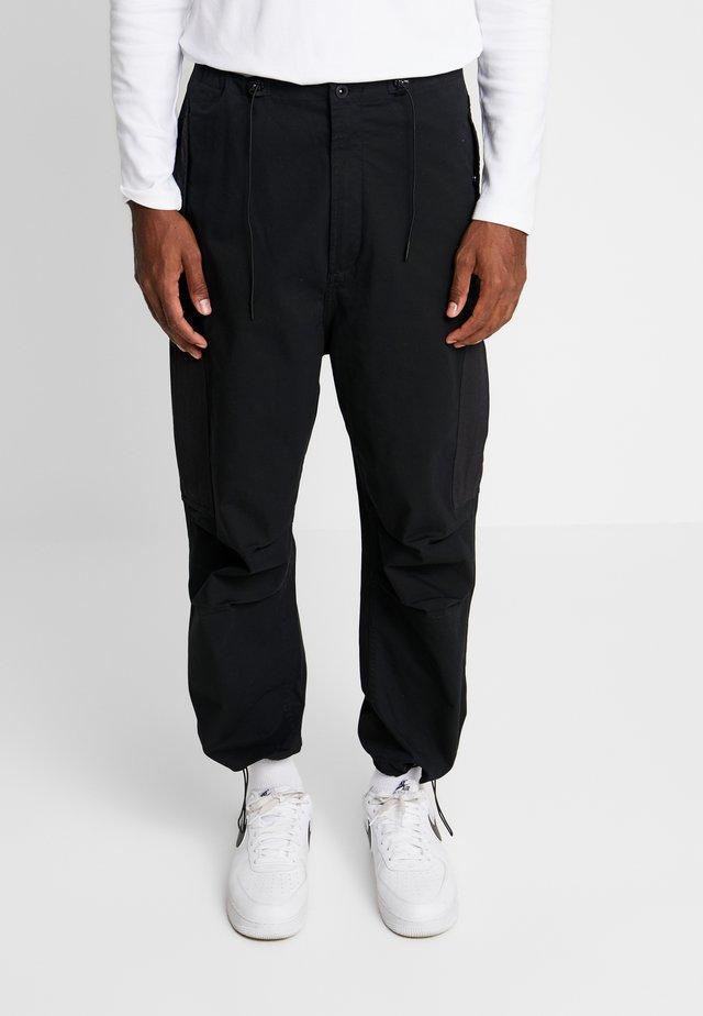 TANK PANT - Pantaloni cargo - black