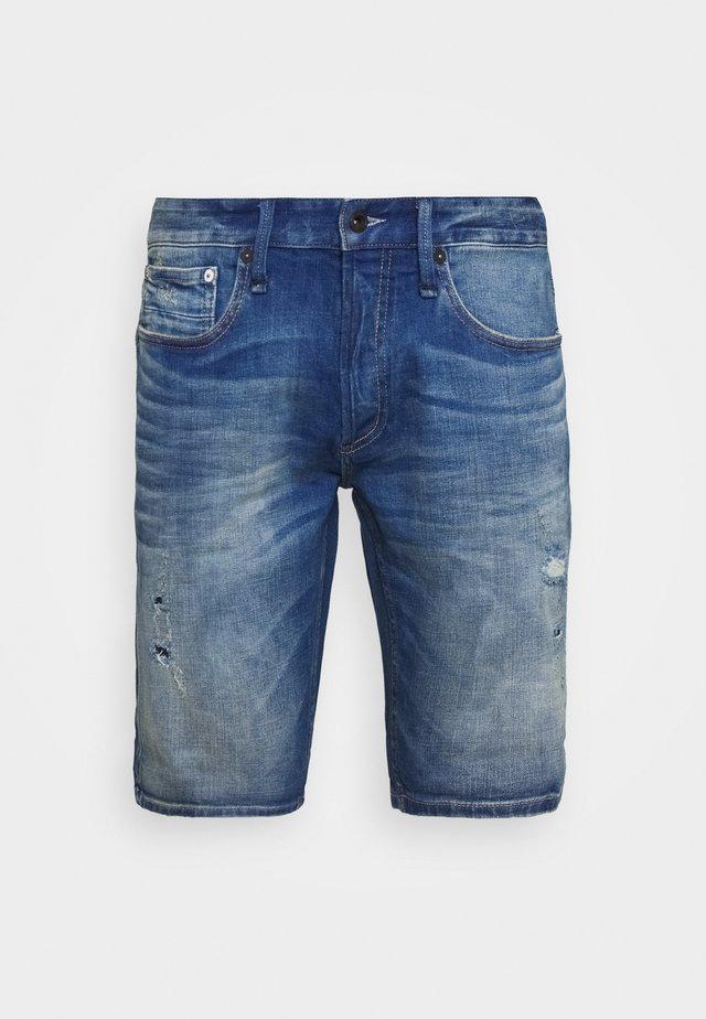 RAZOR - Jeans Shorts - blue