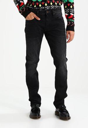 RAZOR - Slim fit jeans - black denim