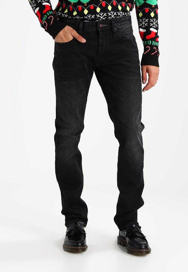 RAZOR - Jeans Slim Fit - black denim
