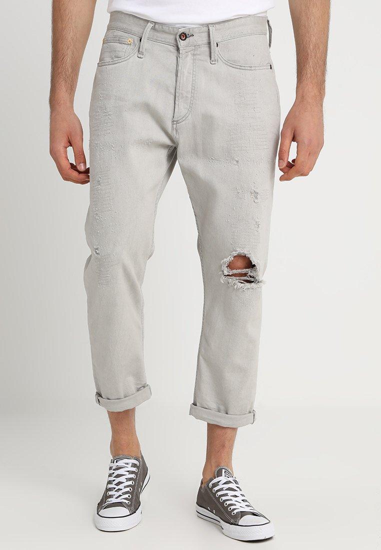 Denham - CROP - Jeans Relaxed Fit - grey denim