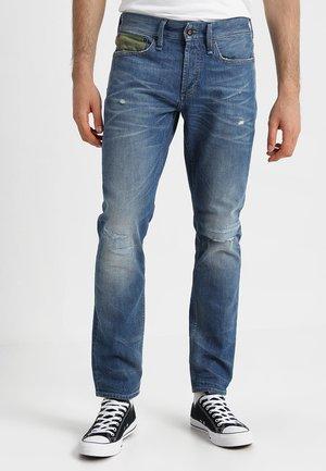 RAZOR - Slim fit jeans - army indigo