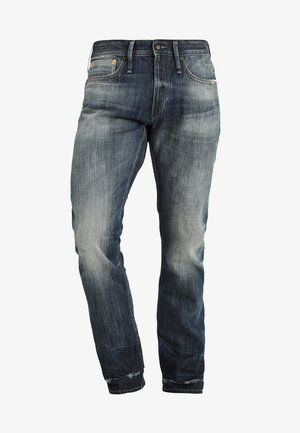 HAMMER - Jeans a sigaretta - dark blue denim