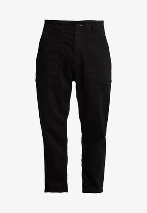 FATIGUE TROUSER - Relaxed fit jeans - black