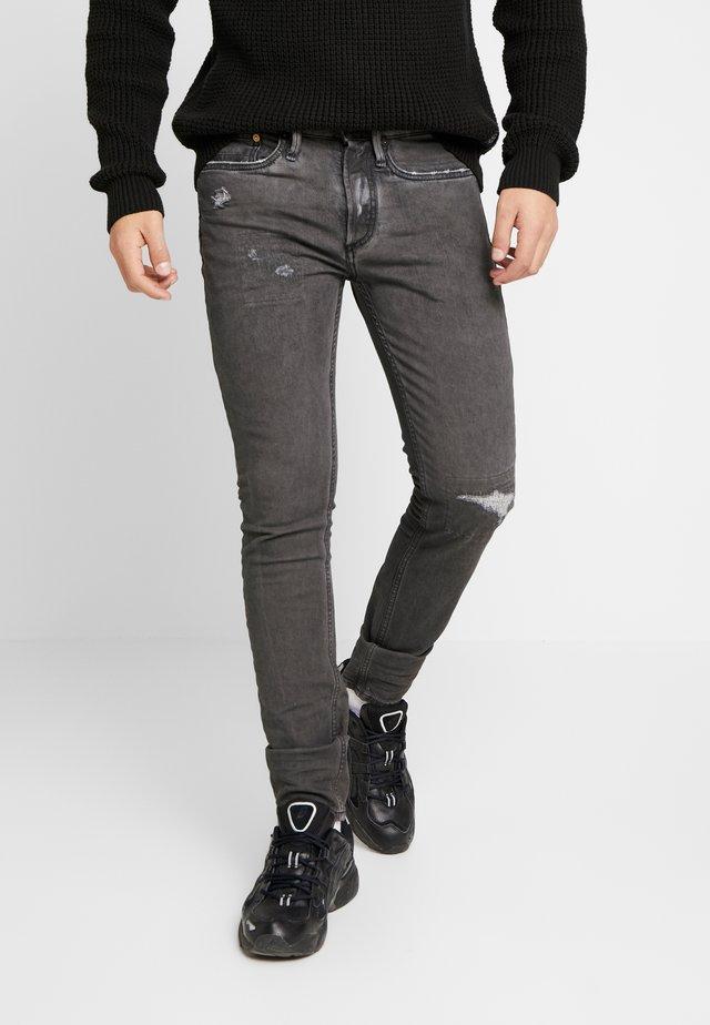 BOLT - Skinny džíny - black
