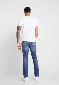 Denham - RAZOR - Jean slim - blue - 2