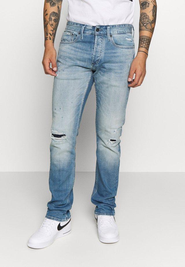 HAMMER - Džíny Straight Fit - blue