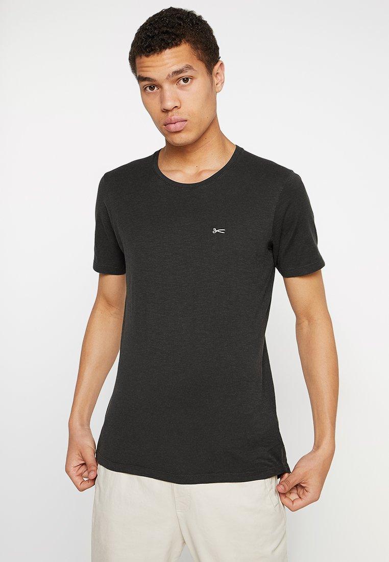 Denham - INGO TEE - Basic T-shirt - licorice black