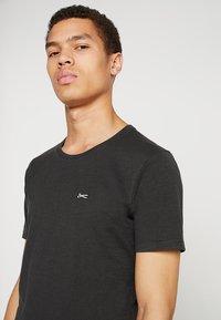 Denham - INGO TEE - Basic T-shirt - licorice black - 3
