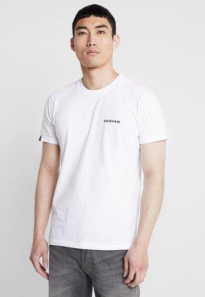 BRAND TEE - Print T-shirt - bright white