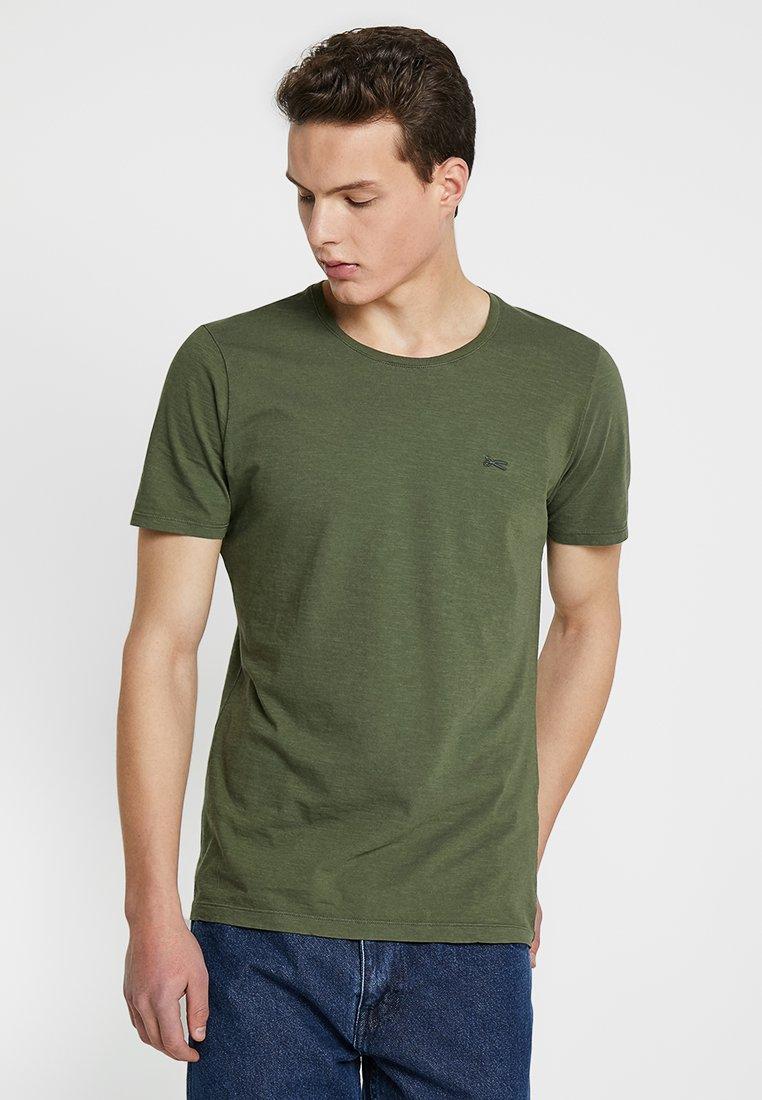 Denham - INGO TEE - T-shirt basic - beetle green