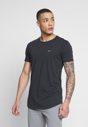 LUIS LONGLINE TEE - Basic T-shirt - black