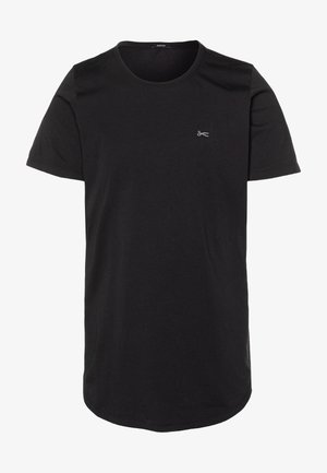 LUIS LONGLINE TEE - Basic T-shirt - black