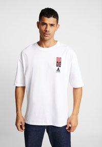 Denham - SAPPORO TEE - Print T-shirt - bright white - 0