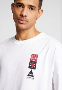 Denham - SAPPORO TEE - Print T-shirt - bright white - 4
