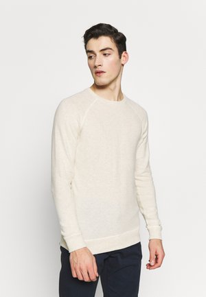 RAGLAN CREW - Jumper - natural marl