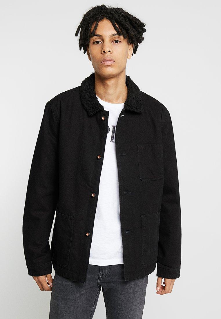 Denham - BRULER JACKET - Denim jacket - black
