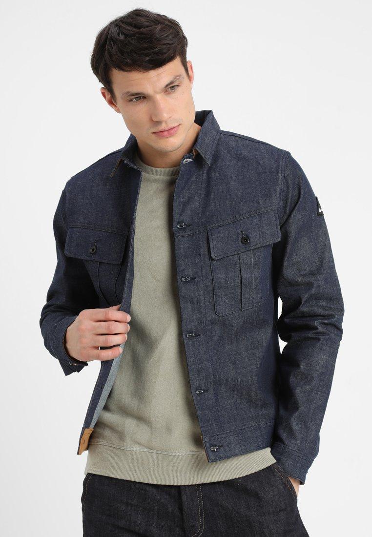 Denham - MILITARY - Denim jacket - blue