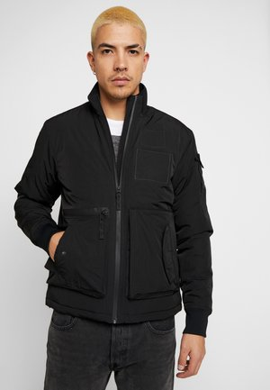 BRAN JACKET - Light jacket - shadow black