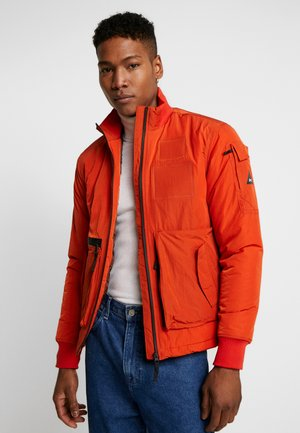 BRAN JACKET - Light jacket - burnt ochre