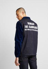 Denham - COACH JACKET - Denim jacket - blue - 2