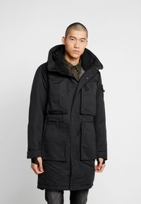 Denham - FLUKE - Zimní kabát - shadow black - 0