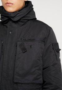 Denham - FLUKE - Zimní kabát - shadow black - 5