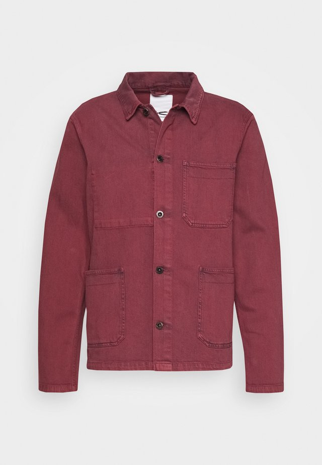 MAO JACKET - Giacca di jeans - rosewood