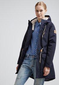 Derbe - FESTLAND FRIESE - Winter coat - dark navy - 0