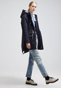 Derbe - FESTLAND FRIESE - Winter coat - dark navy - 1