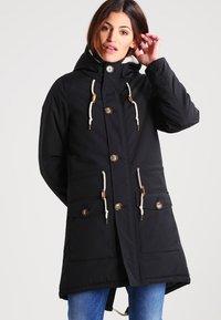 Derbe - FESTLAND FRIESE - Zimní kabát - black - 0