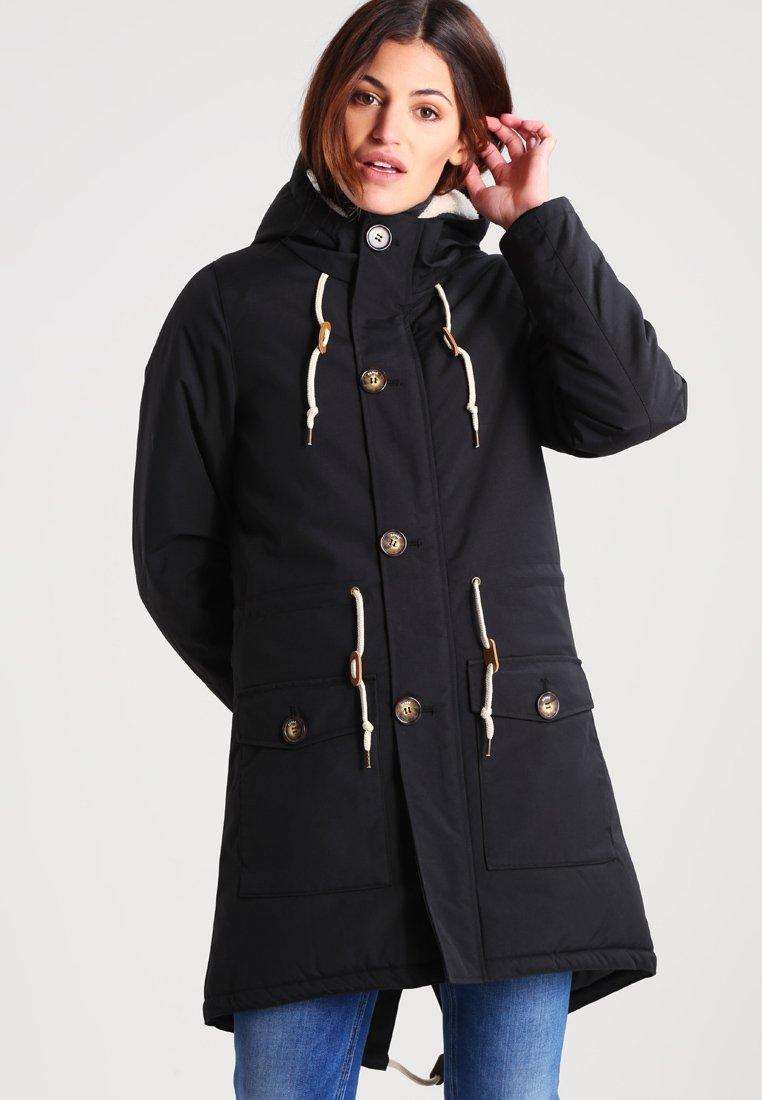 Derbe - FESTLAND FRIESE - Płaszcz zimowy - black
