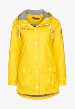 PENINSULA FISCHER - Waterproof jacket - yellow