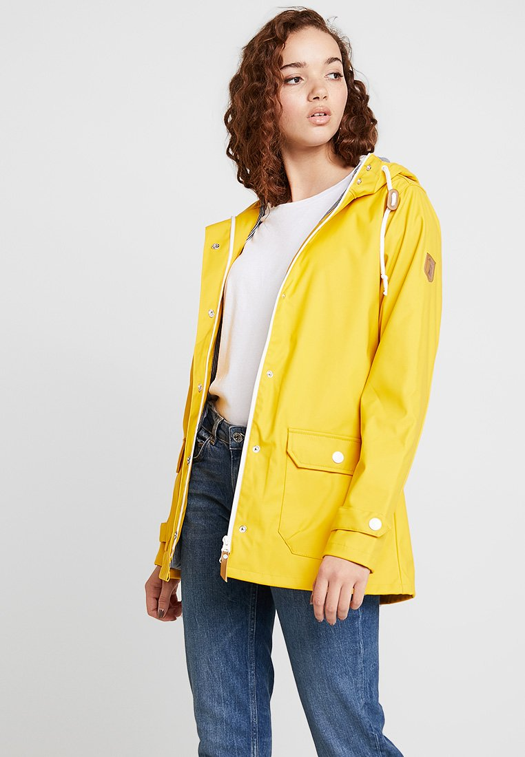Derbe - PENINSULA FISCHER - Vodotěsná bunda - yellow