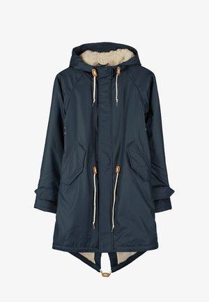 TRAVEL COZY FRIESE - Waterproof jacket - navy