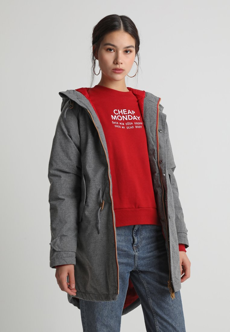 Derbe - WATTN WINTER - Parkas - grey melange