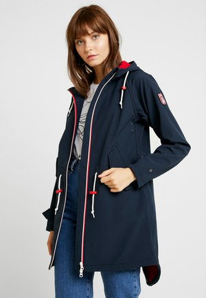 ISLAND FRIESE - Parkas - navy/red