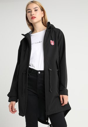 ISLAND FRIESE - Parka - black/grey