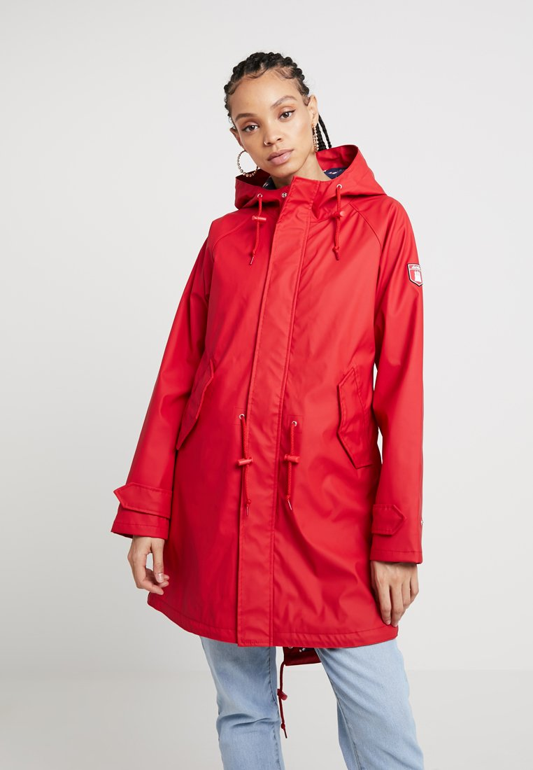 Derbe - TRAVEL FRIESE LIFESAVER - Parka - chinese red