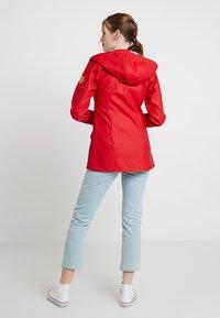 Derbe - PENINSULA LIGHTLY - Vodotěsná bunda - chinese rose/grey - 2