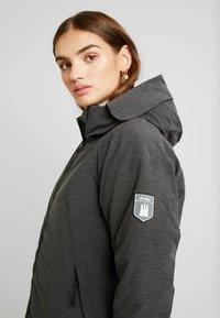 Derbe - GIRLS - Zimní kabát - graphit - 5