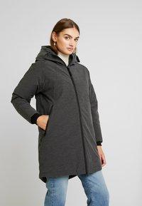 Derbe - GIRLS - Zimní kabát - graphit - 0