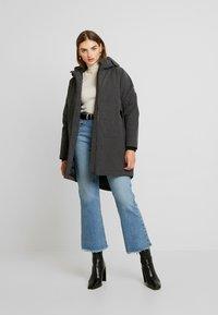 Derbe - GIRLS - Zimní kabát - graphit - 1