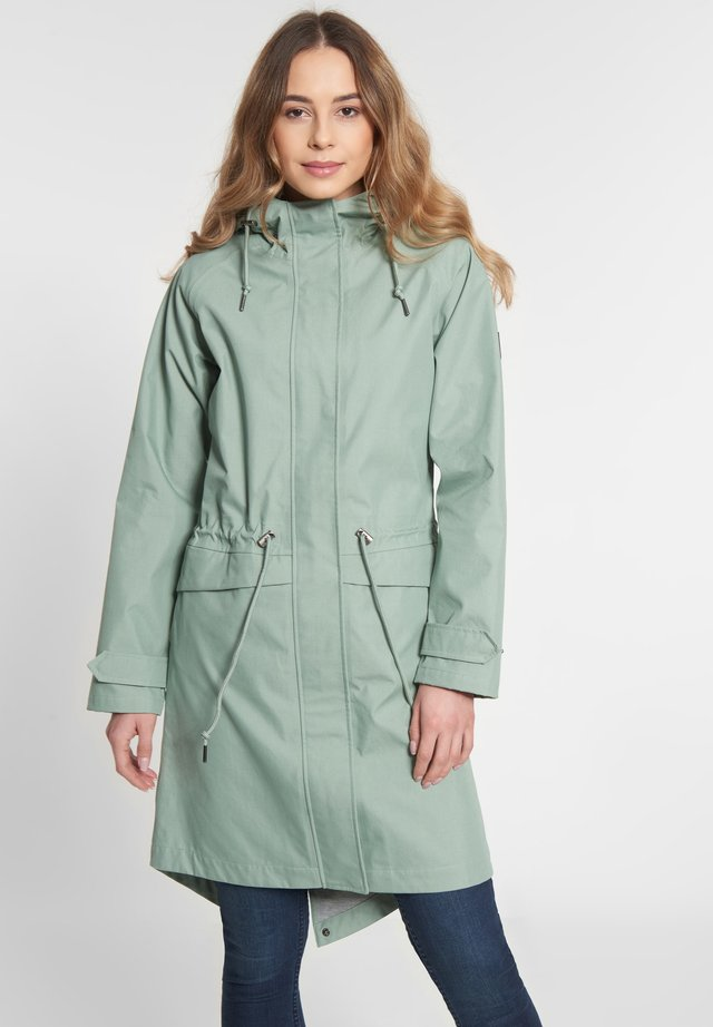 CITY BREAK - Waterproof jacket - green bay