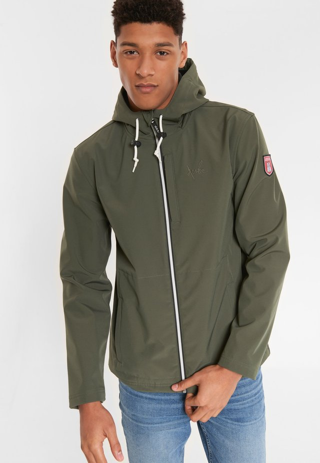 ISLE OF SKYE - Outdoor jacket - olive black