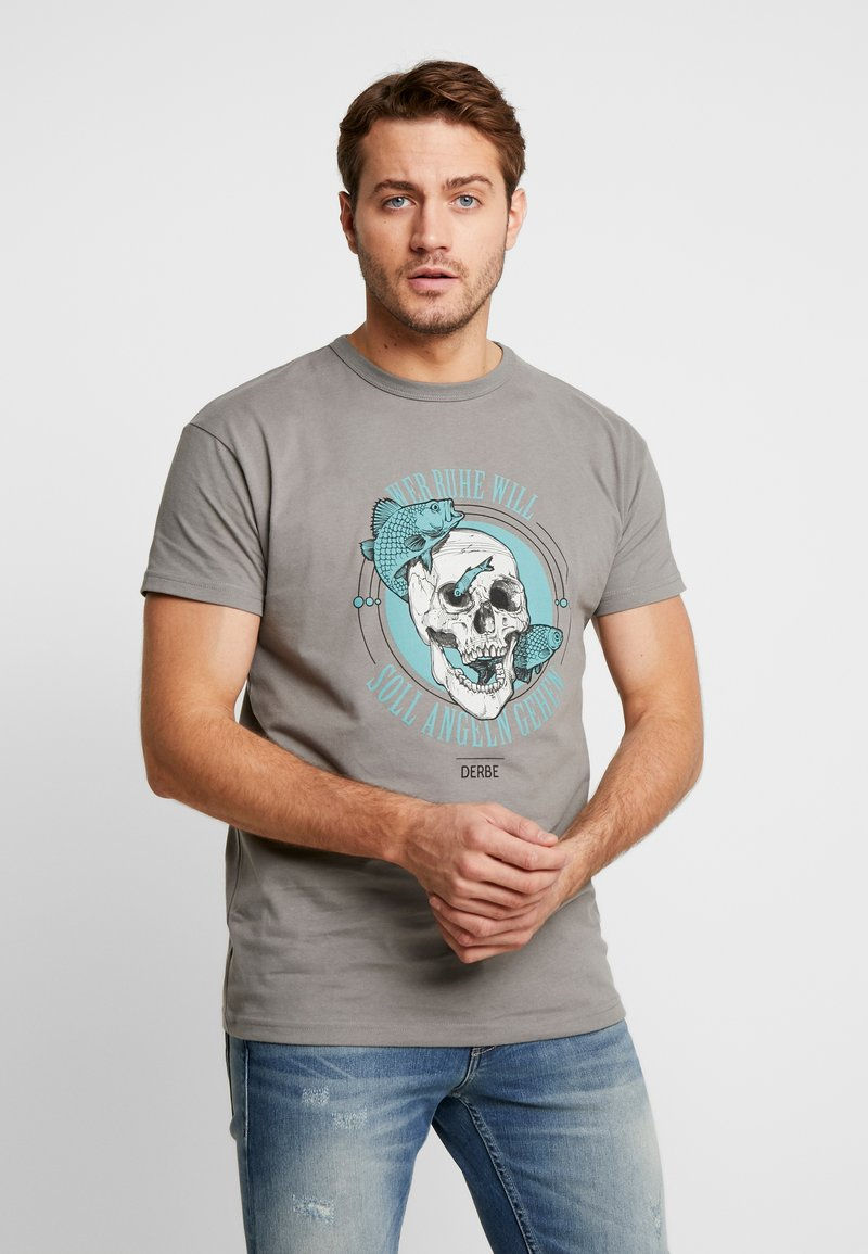 Derbe - ANGELN - Print T-shirt - castlerock