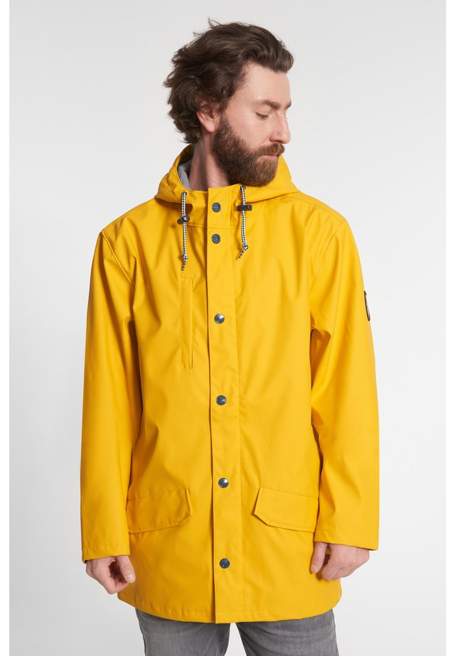 PASSENGER  - Parka - yellow/grey denim