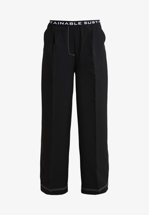 VERONIQUE PANTS - Bukser - black